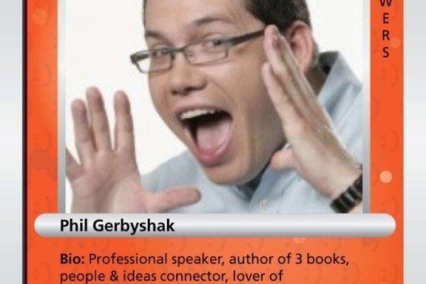 Phil Gerbyshak's Social Trading Card
