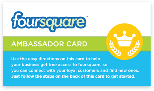 Idea Girl Media is a Foursquare Ambassador and location-based marketing consultant