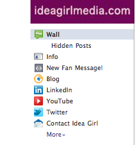 Idea Girl Media offers a video tip on editing the order of the Tabs on your Facebook Page!