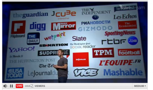Idea Girl Media discusses the media partners for Facebook's new Timeline