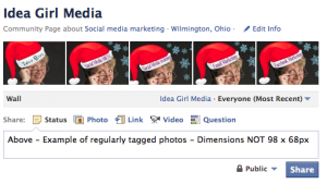 Pre-Holiday Facebook: Game Of Like 5-Image Banner for Idea Girl Media