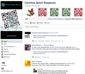 Idea Girl Media announces Carolina Quick Response as a Grand Prize winner of Pre-Holiday Facebook: Game Of LIke