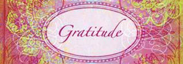 Pink & Green tye dye jacquard Gratitude seal - for my honor roll 2011