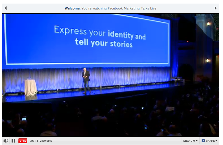 Idea Girl Media explains Facebook Timeline for Business Pages - Express your identity and tell your stories