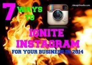 FREE Webinar on Instagram For Business in 2014 hosted by Keri Jaehnig of Idea Girl Media