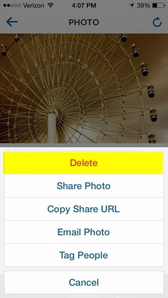 Deleting a post on Instagram is Easy - Keri Jaehnig of Idea Girl Media gives you a step by step explanation