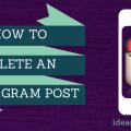 Keri Jaehnig of Idea Girl Media Shows You How To Delete A Post On Instagram