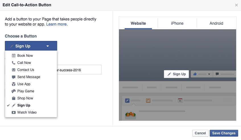Idea Girl Media's Keri Jaehnig explains how your Facebook Page call to action button can bring social media success