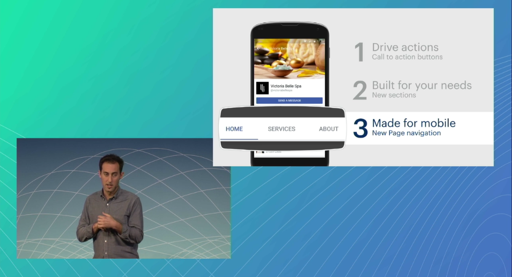 Keri Jaehnig of Idea Girl Media shares details about Facebook's new services sections for Pages
