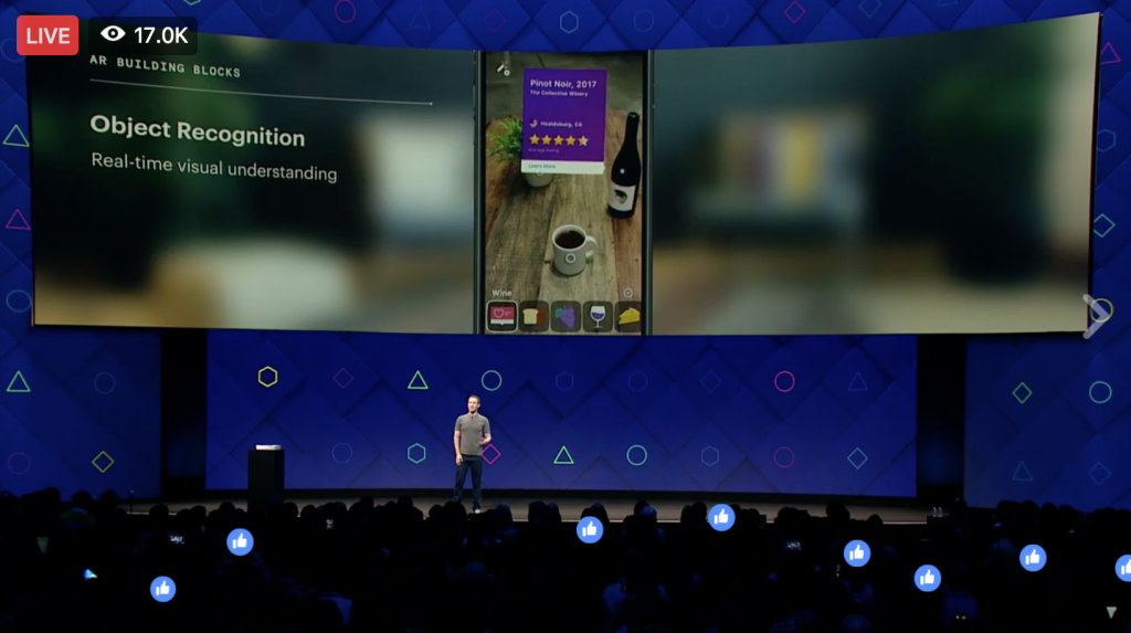 Keri Jaehnig explains Object Recognition at Facebook f8 2017 for Idea Girl Media