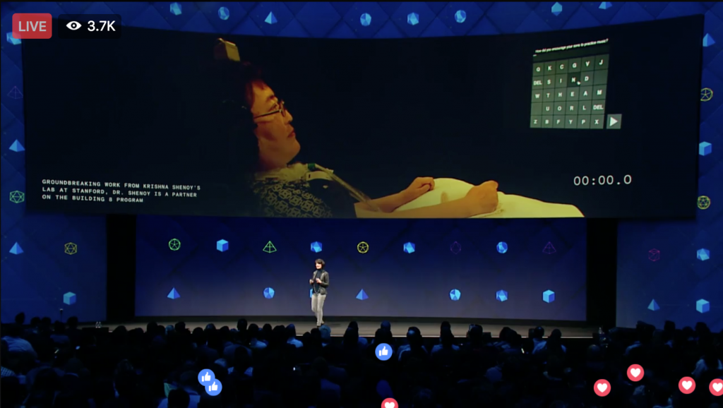 Brain To Screen Technology at Facebook f8 2017 outlined by Keri Jaehnig at Idea Girl Media