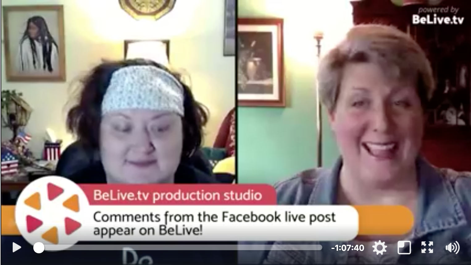 Facebook Marketing Strategy Tip for BeLive.tv as explained by Keri Jaehnig for Idea Girl Media