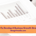 How To Develop A Business Growth Strategy outlined at Idea Girl Media