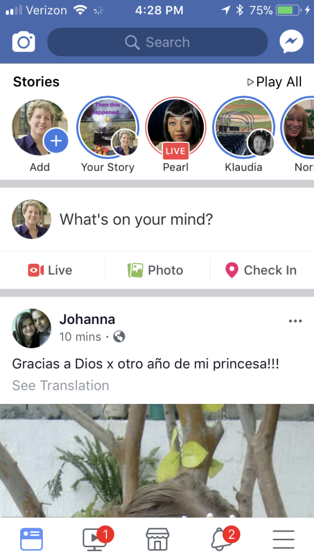 Facebook Stories Is One Of The Facebook Marketing Options You May Be Forgetting To Help You Win The New Facebook Algorithm
