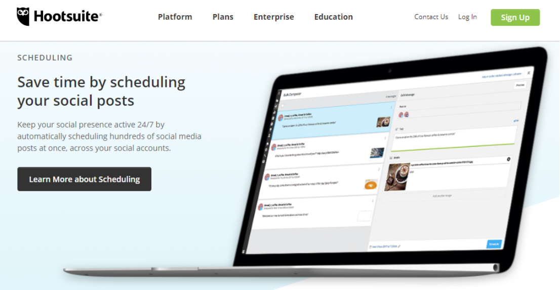 Hootsuite - Social Media Automation Tools described by Uma Bhat at Idea Girl Media