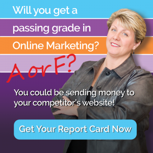 Will you get a passing grade in online marketing? You could be sending money to your competitor's website!