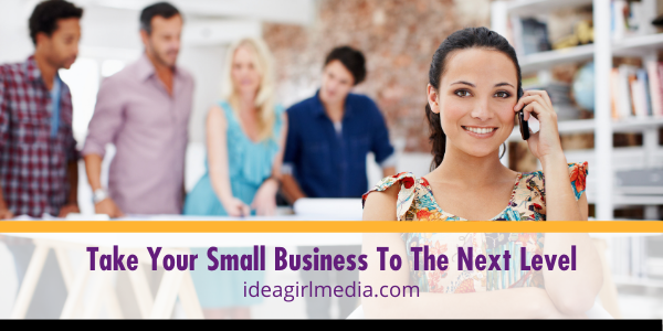 Take Your Small Business To The Next Level with four strategies from Idea Girl Media