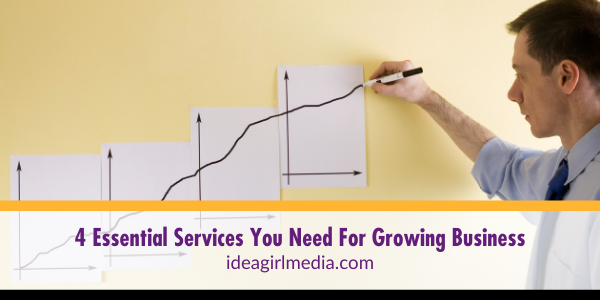 Four Essential Services You Need For Growing Business listed for you at Idea Girl Media