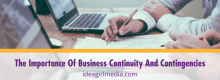 The Importance Of Business Continuity And Contingencies explained at Idea Girl Media