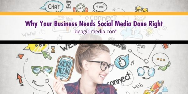 Know why you need to get your social media done right and attract more customers. It's not just creating content. It's building reputation. Idea Girl Media