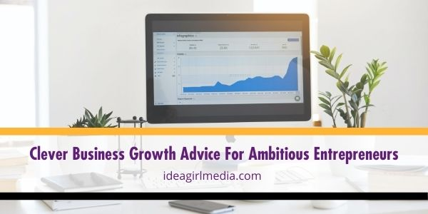 For business owners who need help in overcoming business stagnancy, here is some effective business growth advice that you can do right now outlined at Idea Girl Media.