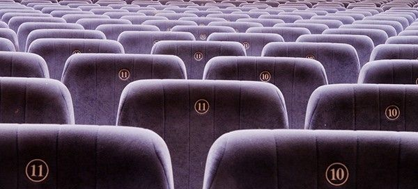 Endless seats in a cinema. Do your social media numbers count for anything if they are not targeted?