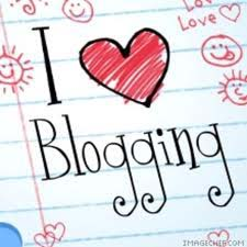 Love blogging!