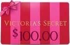 $100.00 Victoria's Secret Gift Card