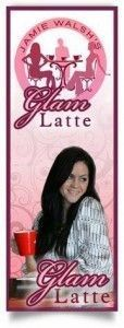Idea Girl Media chose Glam Latte's banner as an example of good branding in social media