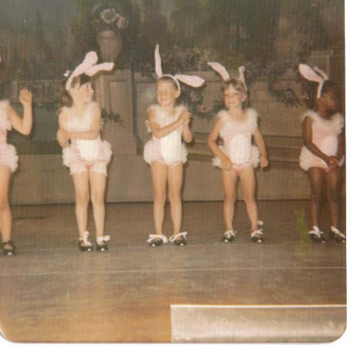 Keri Jaehnig of Idea Girl Media was the Easter Bunny at her first dance recital at age 5.
