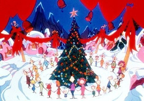 All The Whos Down In Whoville Sang on Christmas Day