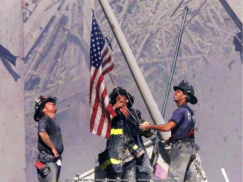 Keri Jaehnig of Idea Girl Media remembers 9/11 and the American flag raising at Ground Zero