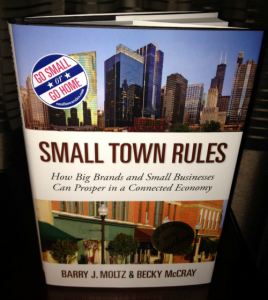 Keri Jaehnig of Idea Girl Media won Small Town Rules Book at BlogWorld & New Media Expo 2012