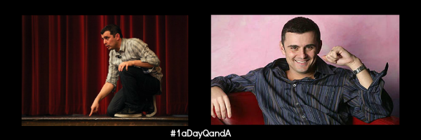 Keri Jaehnig of Idea Girl Media interviews Gary Vaynerchuk for his #1aDayQandA initiative