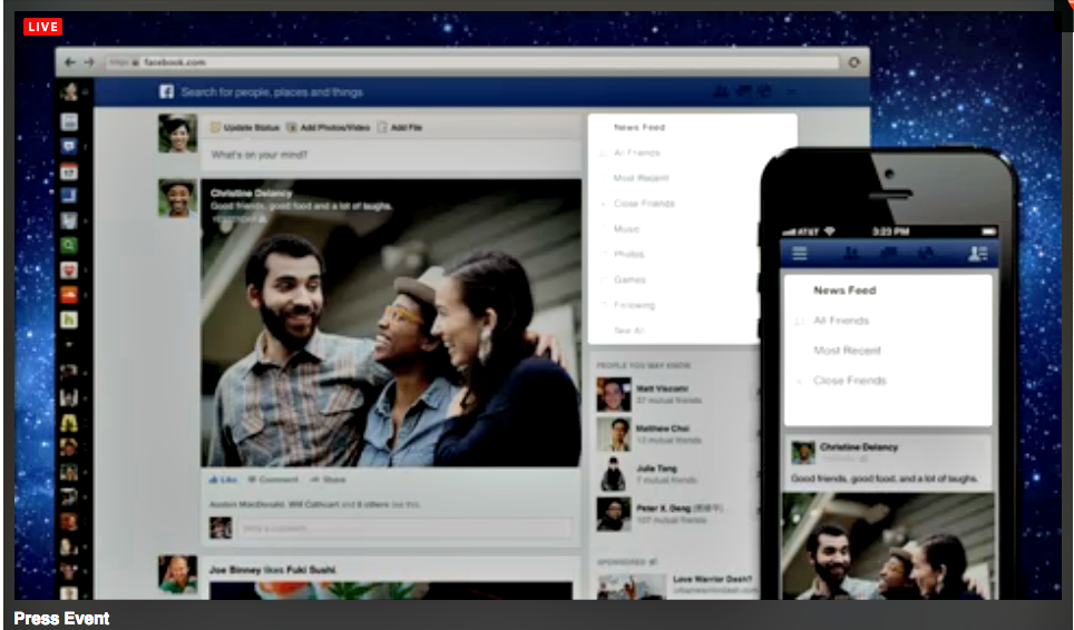 Keri Jaehnig explains the new Facebook News Feed: Facebook Times