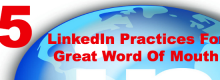 Maria Elena Duron of Buzz2Bucks explains 5 LinkedIn Practices For Great Word Of Mouth at Idea Girl Media
