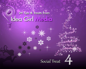 "Keri Jaehnig at Idea Girl Media offered a discount coupon for her social media mentoring program on her ""24 Social Media Tips for 2014"""