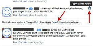 How To Report online trolls that leave negative Facebook Reviews