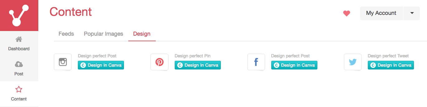Idea Girl Media's Keri Jaehnig explains how you can design visual content in Viraltag with Canva