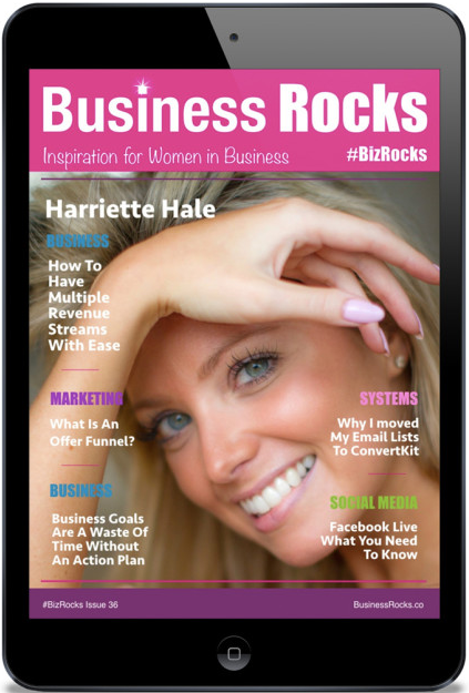 Business Rocks Magazine Offers Inspiration for Women In Business as described by Keri Jaehnig of Idea Girl Media