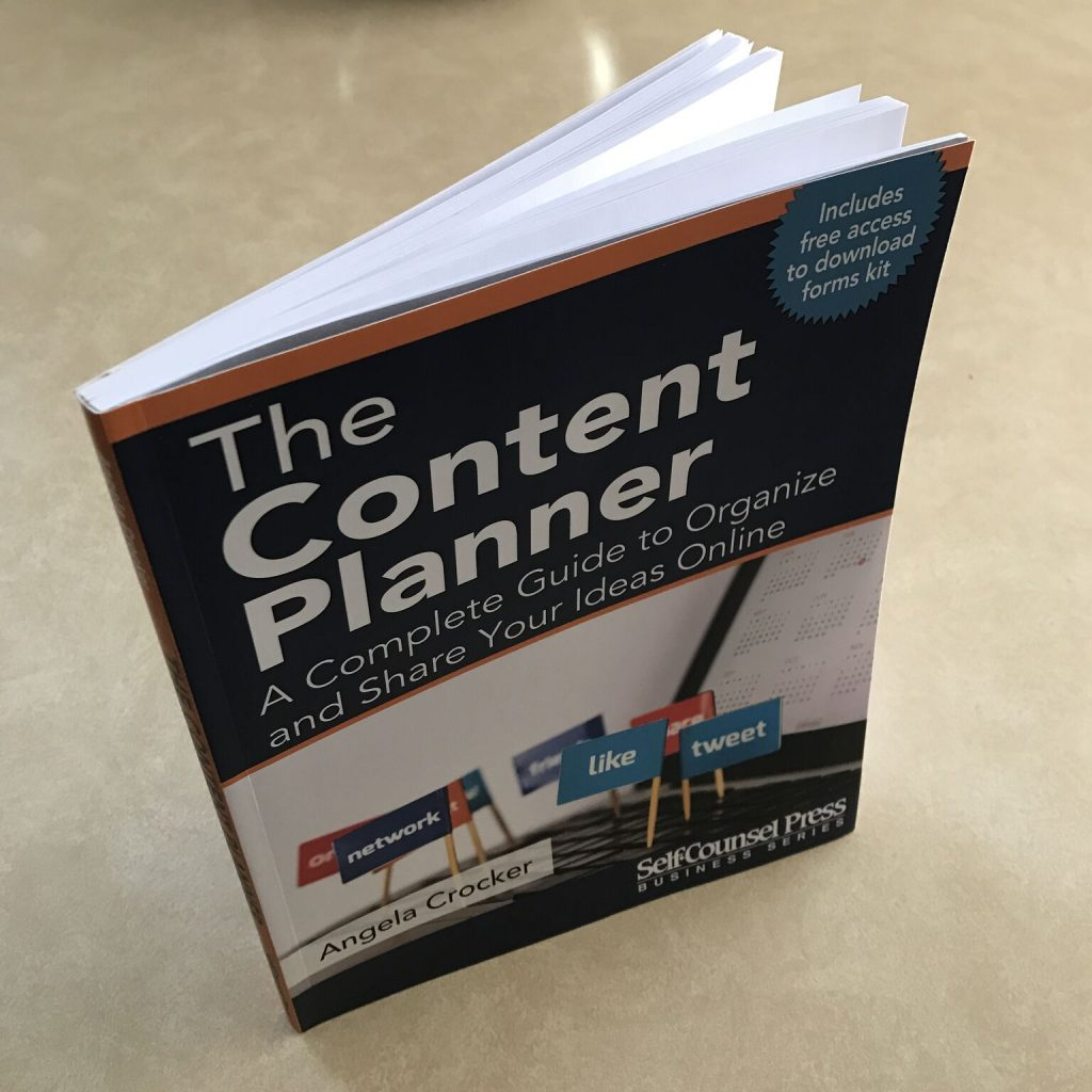Keri Jaehnig reviews the book, The Content Planner - A Complete Guide To Organize And Share Your Ideas Online, by Angela Crocker, at Idea Girl Media