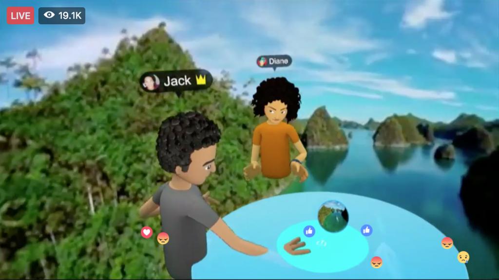 Virtual Reality at Facebook f8 2017 as explained by Keri Jaehnig at Idea Girl Media