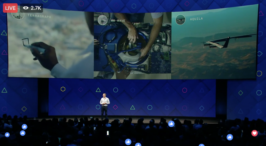 Global Connectivity At Facebook f8 2017 - What that means, explained by Keri Jaehnig at Idea Girl Media
