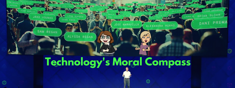 Keri Jaehnig offers a live conversation about Technology's Moral Compass representing Idea Girl Media