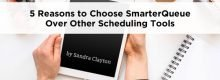 5 Reasons to Choose SmarterQueue Over Other Social Tools as explained by Sandra Clayton at Idea Girl Media
