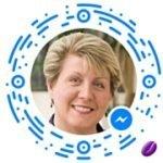 Idea Girl Media Facebook Messenger Scan Code - A Tool To Help Win The New Facebook Algorithm as described by Keri Jaehnig at ideagirlmedia.com