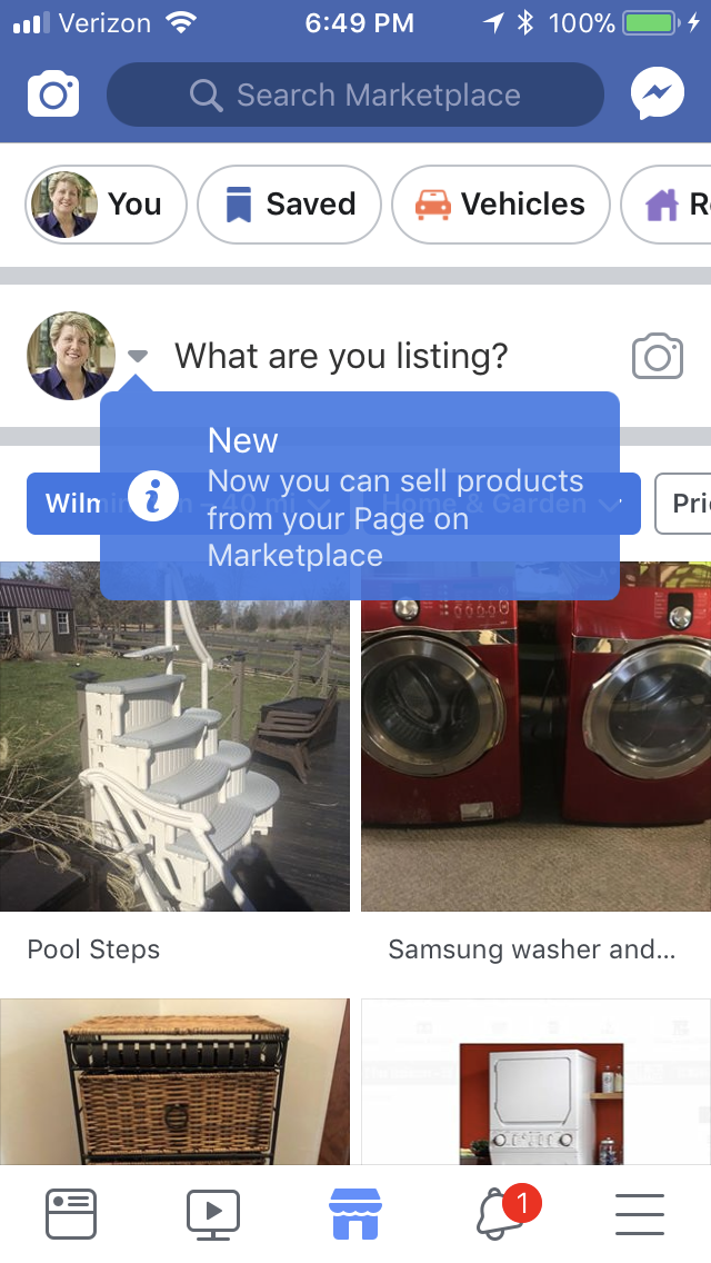 Those Frustrated with the New Facebook Algorithm May Be Forgetting About Facebook Marketplace says Keri Jaehnig of ideagirlmedia.com
