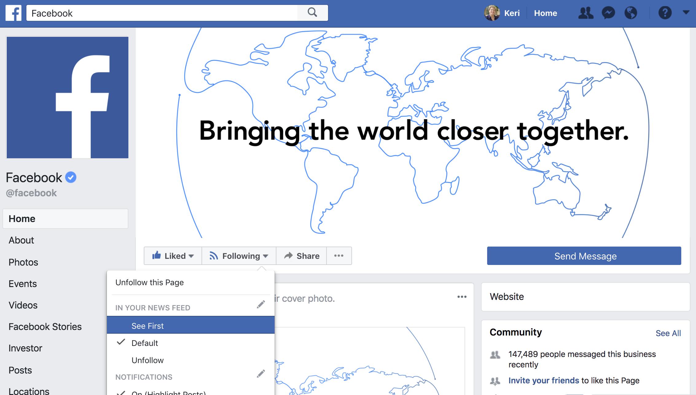 Keri Jaehnig shares the secret for a Customized New Facebook Algorithm Just For Your Facebook Fans at Idea Girl Media