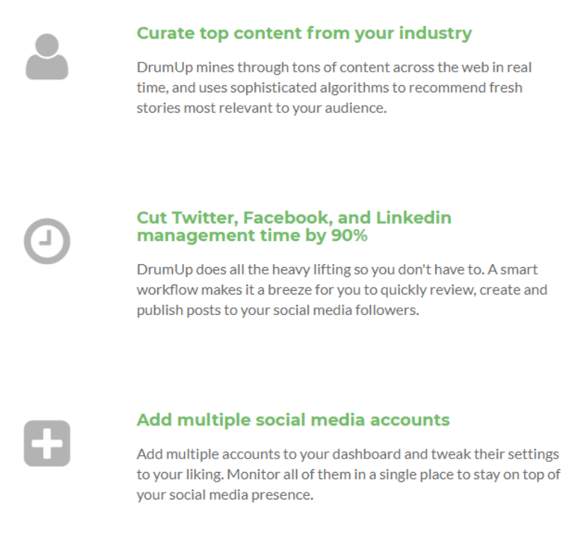 Idea Girl Media offers an introduction to DrumUp - Social Media Automation Tools by Uma Bhat