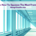 StartUp Spaces: How To Squeeze The Most From A Small Space outlined at Idea Girl Media